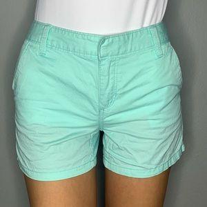 Baby blue shorts!